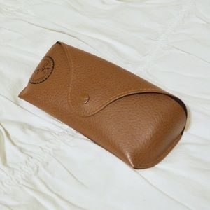 Ray-Ban Sunglasses Leather Case